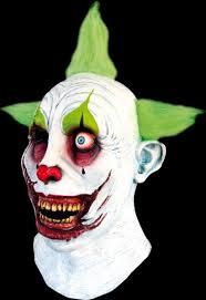 killer clown mask toxic killer clown mask scary horror masks