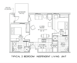 two bedroom apartment dimensions and floor plan for apartment