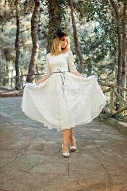 ivory cream 50s wedding dress full skirt original style bridal