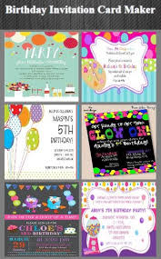 informal invitation birthday party birthday invitation card maker android apps on google play