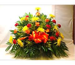 basket arrangements sympathy basket arrangements delivery cleveland oh filer s