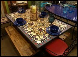 tile table top design ideas mexican tile dining tables dining room ideas