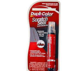 scratch seal automotive clear sealer pen dupli color