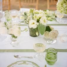 white centerpieces greenery centerpieces archives southern weddings