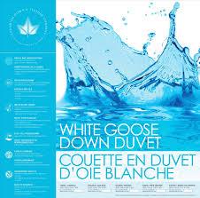 Goose Down Duvet 260 Thread Count U2013 White Goose Down Duvet U2013 Linen Affairs