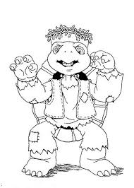 franklin turtle coloring pages batch coloring