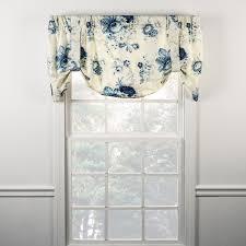 ellis curtain sanctuary rose lined tie up valance 3 colors