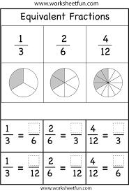 free worksheets printable equivalent fraction worksheets free