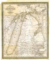 Maps Of Michigan Michigan 1839 Msu Libraries