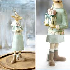 handicrafts resin decoration of couple deer for home decor best