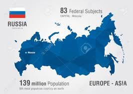 A World Map by Russia World Map With A Pixel Diamond Pattern World Geography