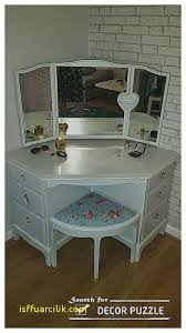 Small Corner Vanity Table Dresser Fresh Makeup Dresser With Mirror And Lights Makeup
