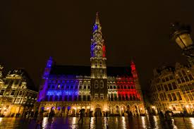 Belgian Flag Brussels Attacks Eiffel Tower To Light Up As Belgian Flag Time