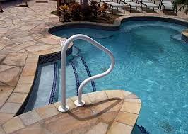 Swimming Pool Handrails Swimming Pool Service U0026 Repair Handrail Installations Phoenix Az