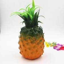 home decor simulation pineapple photography props plastic foam
