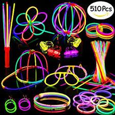 glow party supplies glow sticks 200 8 glow sticks 510pc glow party