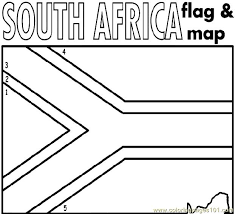 south africa coloring free africa coloring pages
