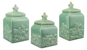 green canister sets kitchen cobalt canister set vintage sets blue glass canisters for blue