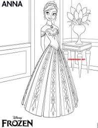 dibujo frozen elsa colorear dibujos princesas disney