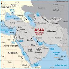 middle east map india middle east global issues