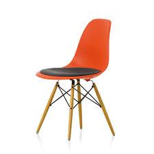 Esszimmerst Le Senf Vitra Vitra Eames Plastic Side Chair Dsw Mit Sitzkissen Workbrands