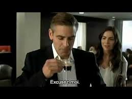 nespresso commercial actress jack black nespresso featuring george clooney and camilla belle tv commercials