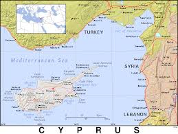 Map Of Cyprus Cy Cyprus Public Domain Maps By Pat The Free Open Source