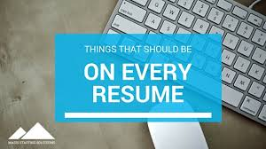Maiden Name On Resume Resumes Of Champions Things That Should Be On Every Resume