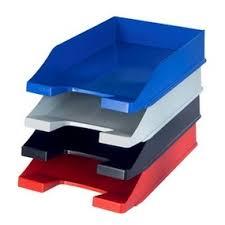 bannettes bureau corbeille à courrier et bannette pour le bureau az fournitures