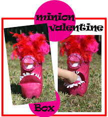 minion valentine box laughing losing