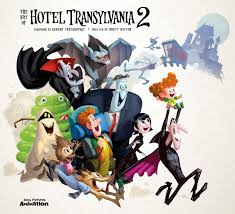 titan books art hotel transylvania 2 brett rector