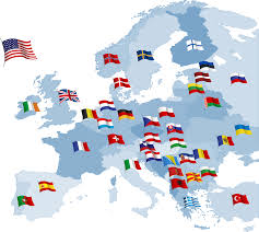 Current Map Of Europe Image Gallery Of Europe Map Collage