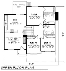 side split house plans house plan 73401 at familyhomeplans
