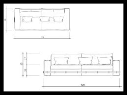 dimensions canapé dimension canapé 3 places 12526 canape idées