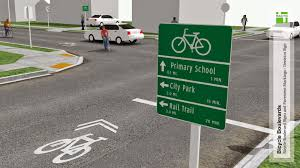 1st state bikes why we need accurate signage on our pathways and