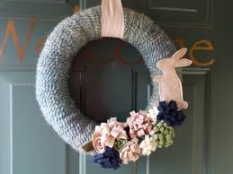 easter bunny wreath homespun easter bunny wreath quiver of blessings