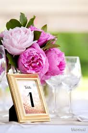 gold wedding table numbers 4x6 printable table numbers 1 40 wedding table numbers pink