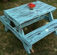 Make Your Own Picnic Table Bench by Best 25 Kids Picnic Table Ideas On Pinterest Kids Picnic Table