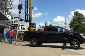 nissan titan for sale 2016 nissan titan xd gets preferred parking at titans u0027 stadium