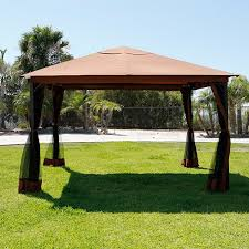 Outdoor Patio Canopy Gazebo 10 X 12 Regency Patio Canopy Gazebo Mosquito Net Netting