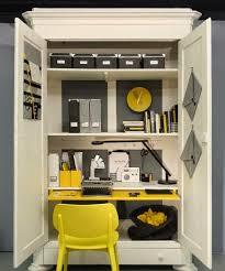 armoires bureau un bureau dans le placard bureaus dan and armoires