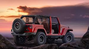 jeep wheels and tires the jeep red rock concept with off road wheels and tires