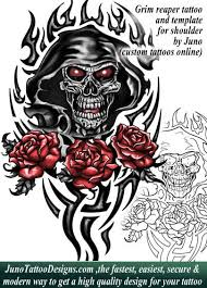 grim reaper tattoo template by juno tattoo designs how to create