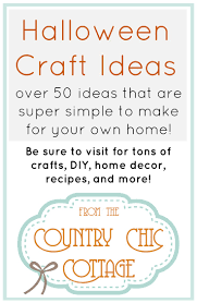halloween projects and tutorials the country chic cottage
