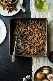 thanksgiving bean casserole healthy vegan green bean casserole food faith fitness