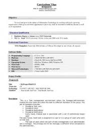 Example For Resume Title by Examples Of Resumes Sample Cv Chief Accountant Example A Resume