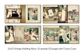 10x10 wedding album vintage 10x10 album template 10 spread 20 page design with