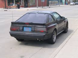 mitsubishi starion 1987 1987 chrysler conquest tsi 1970s 1980s car of the day vol u2026 flickr
