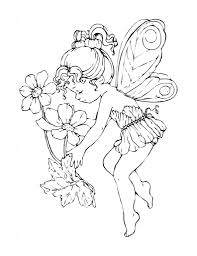 lovely coloring pages fairy 36 on seasonal colouring pages with