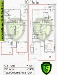 house designs plans civil experts 10 marla house plans